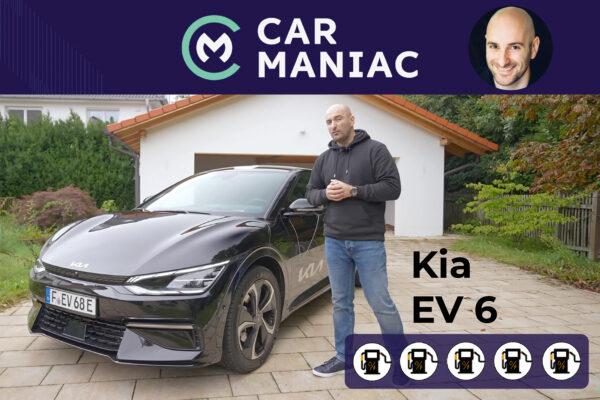 Kia EV6 im Car Maniac E-Auto-Test