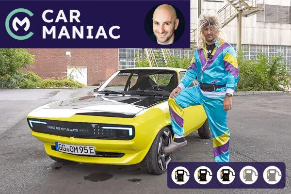 Opel Manta GSe im Car Maniac E-Auto-Test