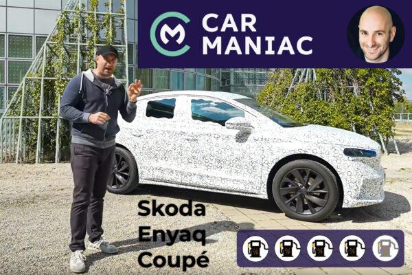 Skoda Enyaq Coupé im Car Maniac E-Auto-Test