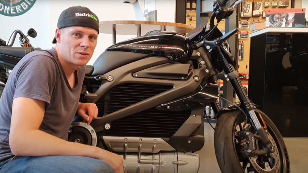Electric Dave Harley Davidson LiveWire