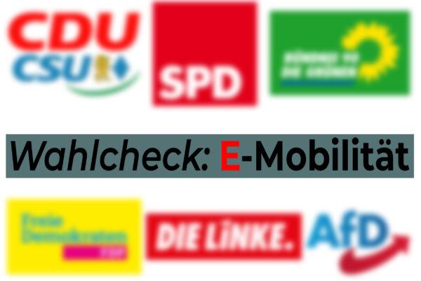 Zum Nachgang der Bundestagwahl: Wie stehen die Parteien zur Elektromobilität?