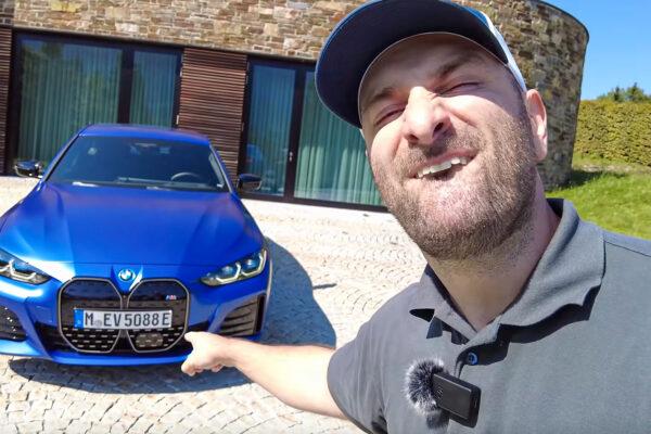 BMW i4 M50 im Car Maniac E-Auto-Test